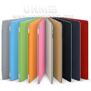 Multi Colors Magnetic Smart Cover Slim PU Leather Case Wake Up Sleep