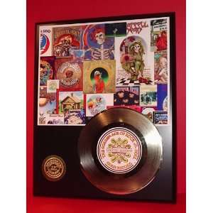 GRATEFUL DEAD GOLD RECORD LIMITED EDITION DISPLAY