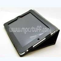 Apple iPad Case   Black Carbon Fiber Look ships from US