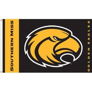 SOUTHERN MISS GOLDEN EAGLES 3 x 5 Flag