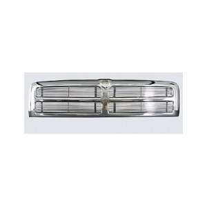Street Scene Dodge Ram 94 01 4 Section Plastic Chrome Grille Shell