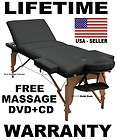 massage table new bed portable free massage dvd music cd