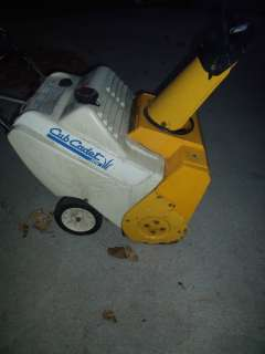 MTD / CUB CADET SNOW BLOWER 4 PARTS OR FIX 2 USE, LOCAL PICK UP OR