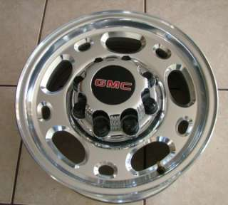Chevy Silverado GMC Sierra 2500 2500HD Duramax 16 8 Lug Wheels +Caps
