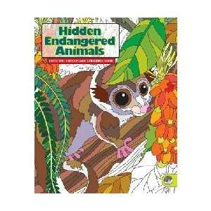 Endangered Animals Creature Camouflage Coloring Book Toys & Games