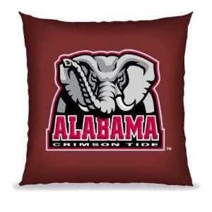 Alabama Crimson Tide Team Toss Pillow