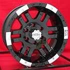 16 inch black wheels rims chevy gmc 1500 6 lug