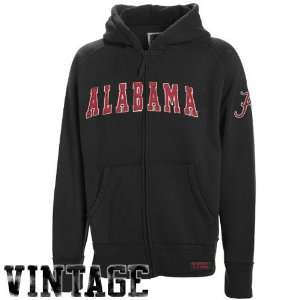Tide Youth Black Burn Full Zip Hoody Sweatshirt