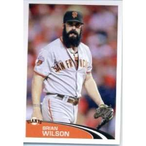 Sticker #298 Brian Wilson San Francisco Giants Sports Collectibles