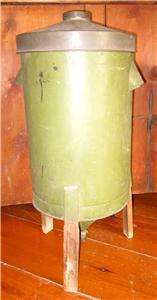 Original Antique Green Painted Tin Superior Cream Separator