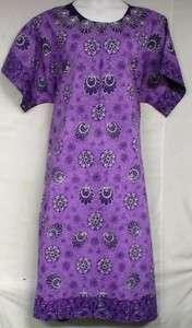 African Womens House Dress Caftan Lounger L XL 1X 2X 3X