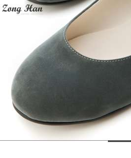 Womens Loafer Soft Comfy Ballet Flat Shoes in Black / Gray Color