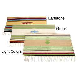 Indian Hand woven Dhurrie Cotton Rug (2 x 3)