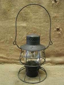 Vintage P.R.R. Railroad Lantern  Antique Old UP