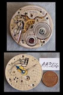Hamilton 956 Pocket Watch Movement Only, 17 Jewels, U Fix, No Reserve