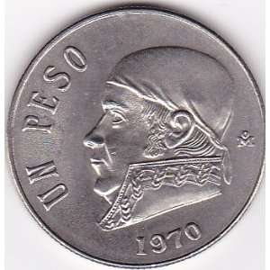 1970 Mexico 1 Peso Coin: Everything Else