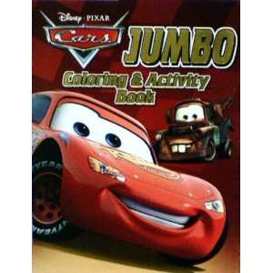 Disney Pixar Cars Jumbo Coloring and Activity Book Disney