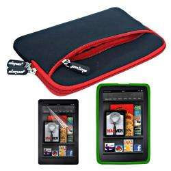 SKQUE  Kindle Fire Glove Case/ Silicone Case/ Screen Protector