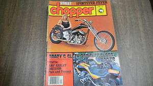 Street Chopper Magazine April 1978 ProfileAMF Harley Davidson FREE S