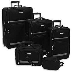 American Trunk and Case Summit 5 piece Luggage Set