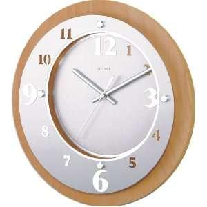 Wooden Laser Cut Metal Wall Clock