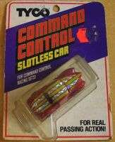 1979 TYCO TCR Command Control Hot Rod Slotless Car NOS