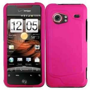 Hot Pink Hard Case Cover for HTC Droid Incredible 6300