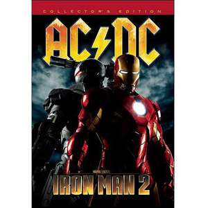 Iron Man 2 Soundtrack (CD/DVD) (Collectors Edition), AC