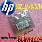 HP BCM94322MC BCM4322 BCM94322 ABGN wifi Half Mini Card