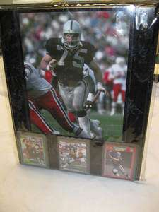 Oakland Raiders HOWIE LONG 15 x 12 Custom PLAYER Plaque AL DAVIS