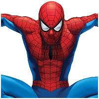 nEw BiG SPIDERMAN Boy Room WALL ACCENT MURAL Spider Man