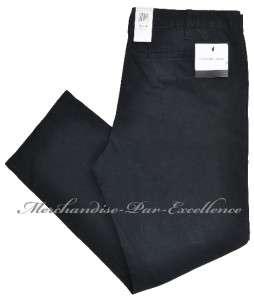 New Mens CALVIN KLEIN JEANS Cotton Chino Pants Slacks khakis BLACK