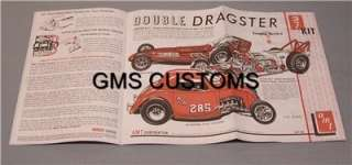AMT 627 Double Dragster Kit 3in1 SPECIAL Edition Tin