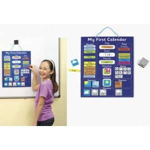 My First Calendar Magnetic Chart   Teacher Resources