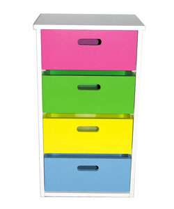 Multi colored Childrens Cupboard