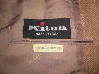 250,00 beautiful Kiton cashmere Sport Coat Sz. 42