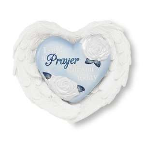 Prayer Inspirational Heart and Wings Gift Set Home