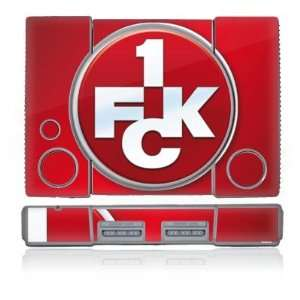 Skins for Sony Playstation   1. FCK Logo Design Folie Electronics