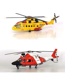 Diecast Agusta Model Helicopters (Set of 2)