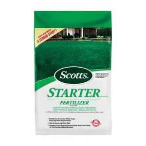 Scotts Starter Fertilizer, 5,000 Sq Ft Home & Kitchen