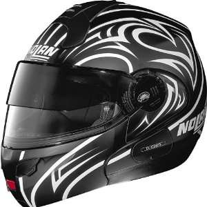 Nolan Secret N102 N Com Modular Full Face Motorcycle Helmet   Flat