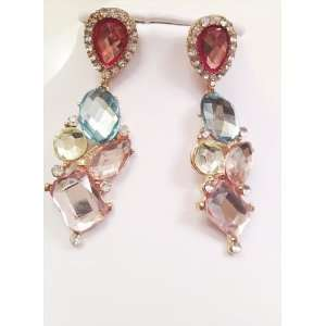 Charmed by Stacy Red Carpet Collection Fashion Earrings Jewelry