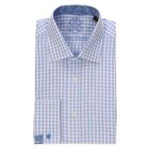English Laundry Mens Gingham Dress Shirt