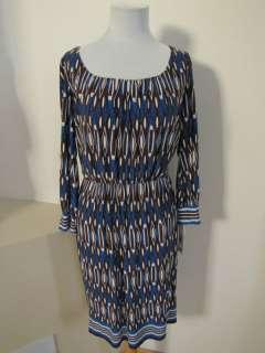 NWT MAGGIE LONDON blousen MATTE JERSEY print DRESS 8