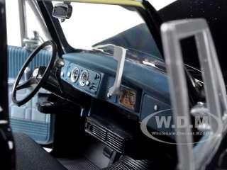 1981 CHECKER A11 BLACK CAB TAXI 1/18 DIECAST MODEL CAR BY SUNSTAR 2507