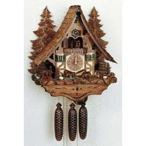 Schneider Chalet Cuckoo Clock, Woodchucks, Model #8TMT