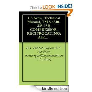 US Army, Technical Manual, TM 5 4310 335 35P, COMPRESSOR