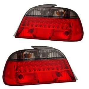 1998 2001 BMW E38 7 Series KS LED Red/Smoke Tail Lights