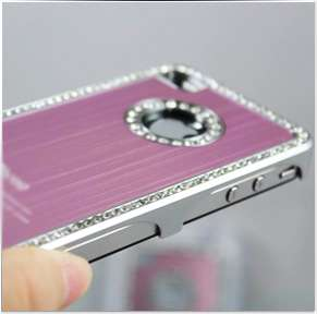 LUXURIOUS RHINESTONE DIAMOND BLING CASE COVER DESIGNED FOR IPHONE 4/4S