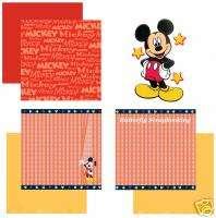 DISNEY MICKEY Collection 12X12 Scrapbook Kit SANDYLION